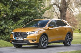 DS 7 Crossback, front, action