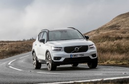Volvo XC40, 2018, front, action