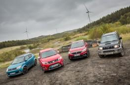 Suzuki Allgrip vehicles, Ignis, Vitara, S-Cross and Jimny