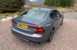 Volvo S60, rear, static