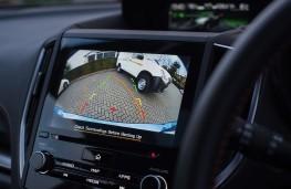 Subaru XV, reversing camera