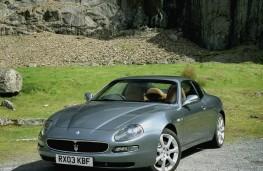 Maserati Coupe, front