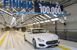 Maserati Quattroporte, 100,000th model produced