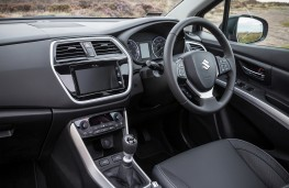 Suzuki SX4 S-Cross, 2017, interior