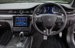 Maserati Quattroporte, 2018, dashboard