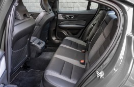 Volvo S60, rear seats