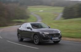 Maserati Levante, front action 2