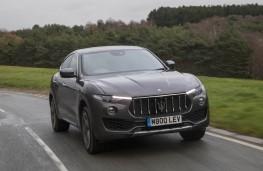 Maserati Levante, front action