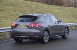 Maserati, Levante, rear action