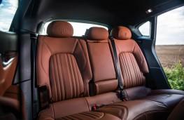 Maserati Levante, rear seats