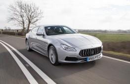 Maserati Quattroporte, 2018, front, action