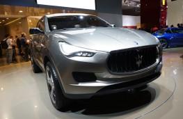 Maserati Kubang, front