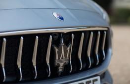 Maserati Quattroporte, 2018, grille