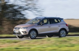 SEAT Arona, side, action