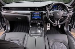 Maserati Quattroporte, 2018, interior