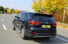 Kia Sorento, rear, action