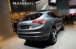 Maserati Kubang, rear