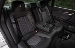 Maserati Quattroporte, 2018, rear seats