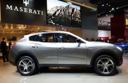 Maserati Kubang, side