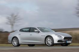Maserati Quattroporte, 2018, side