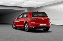 Volkswagen Golf Match, 2019, rear