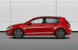 Volkswagen Golf Match, 2019, side