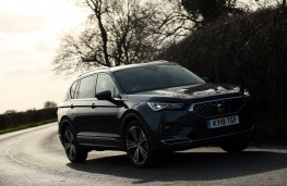SEAT Tarraco, front, action