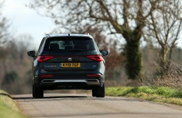 SEAT Tarraco, rear, action