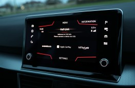 SEAT Tarraco, display screen