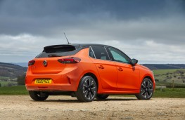Vauxhall Corsa-e, rear