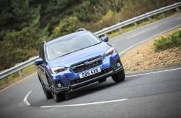 Subaru XV, front, cornering