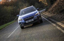Subaru XV, front, action