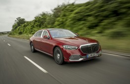 Mercedes-Maybach S-Class, 2021, front