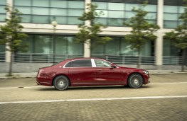 Mercedes-Maybach S-Class, 2020, side