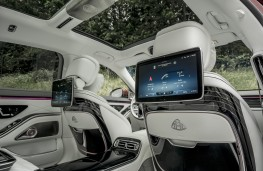 Mercedes-Maybach S-Class, 2021, tablet