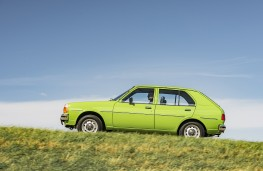 Mazda 323, 1979, side