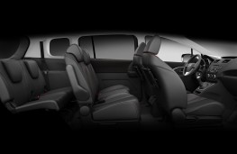 Mazda5 1.6 diesel, seating arrangement