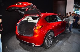 Mazda CX-5, boot, 2016, Los Angeles auto show