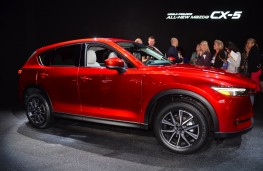 Mazda CX-5, 2016, Los Angeles auto show