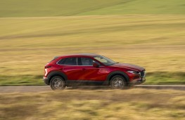 Mazda CX-30, side action