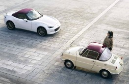 Mazda MX-5 Convertible 100th Anniversary Edition and R360 Coupe