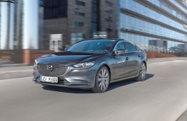 Mazda 6 Saloon 2018 front