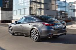 Mazda6 saloon 2018 rear