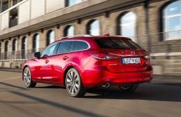 Mazda 6 Tourer 2018 rear