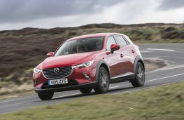 Mazda CX-3, front action