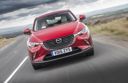 Mazda CX-3, full front action