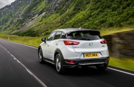 Mazda CX-3, rear action