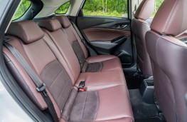 Mazda CX-3, rear seats