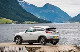 Mazda CX-3, rear static