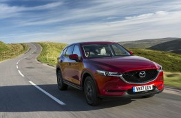 Mazda CX-5, front action 2